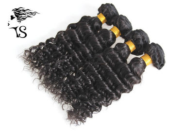 4 zestawy Indian Remy Human Hair Deep Wave, Indian Curly Hair Extensions